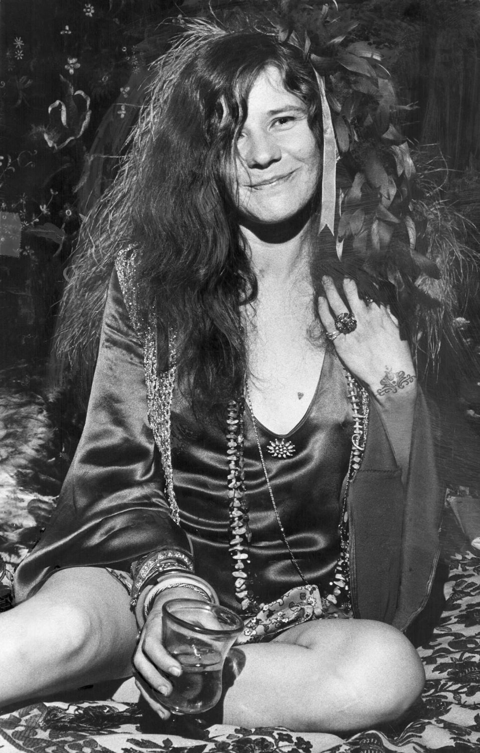 Janis Joplin 24x35 inches Canvas Print