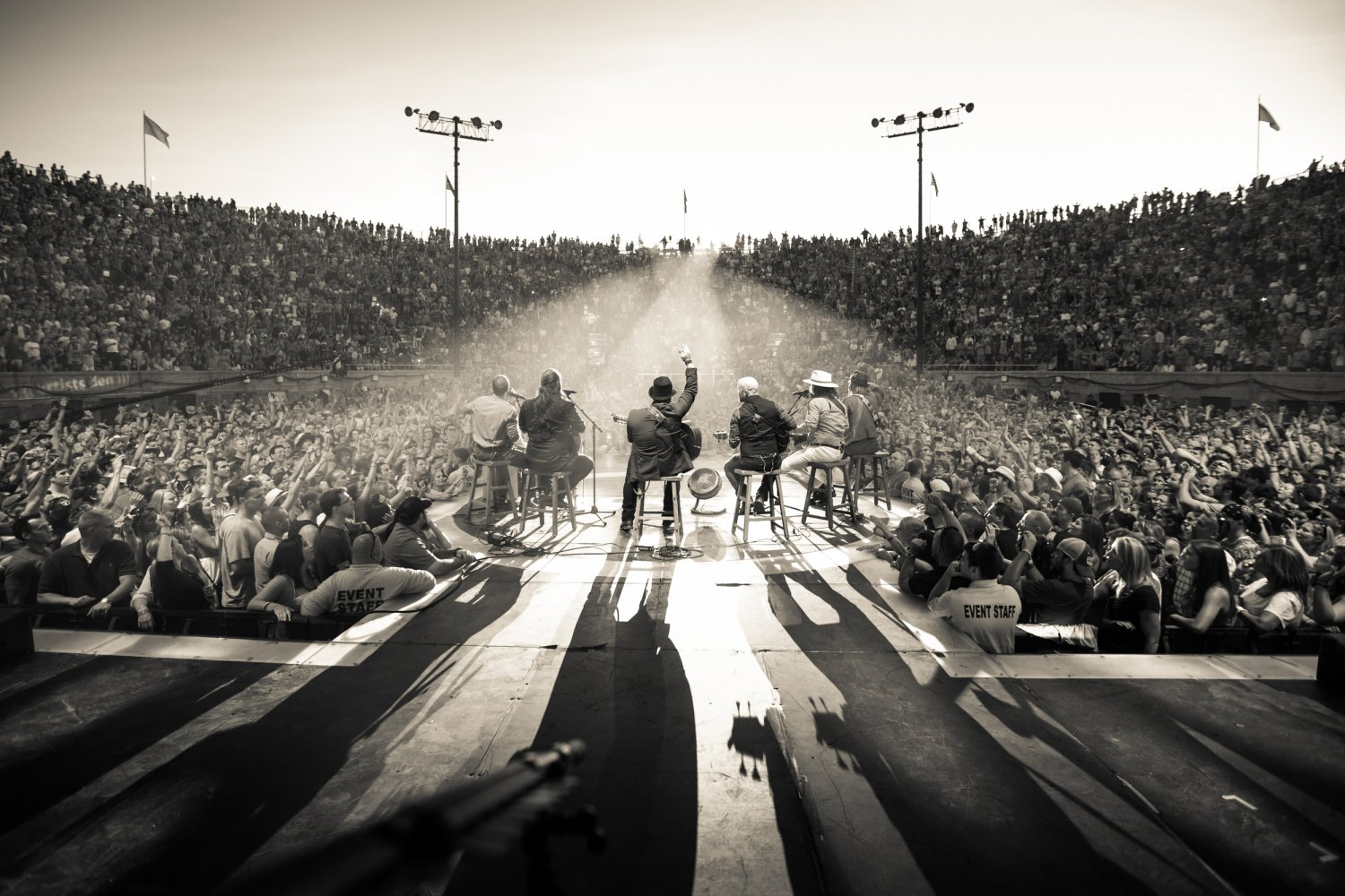 Zac Brown Band Scene Tour 24x35 inches Canvas Print