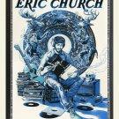 Eric Church Concert Tour   18x28 inches Canvas Print