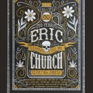 Eric Church Concert Tour   18x28 inches Canvas Print