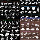 100 Vehicles of Star Wars Chart   18x28 inches Canvas Print
