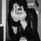 Joan Jett   24x35 inches Canvas Print