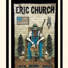 Eric Church Concert Tour  13x19 inches Poster Print