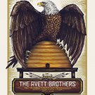 The Avett Brothers Concert  18x28 inches Poster Print