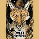 The Avett Brothers Concert  18x28 inches Canvas Print