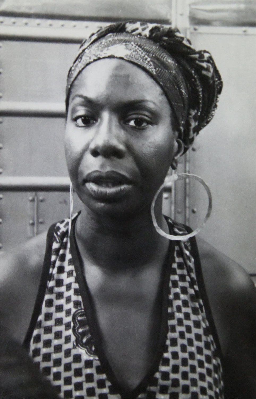 Nina Simone  18x28 inches Canvas Print