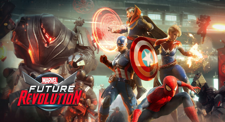 Marvel Future Revolution   18x28 inches Poster Print