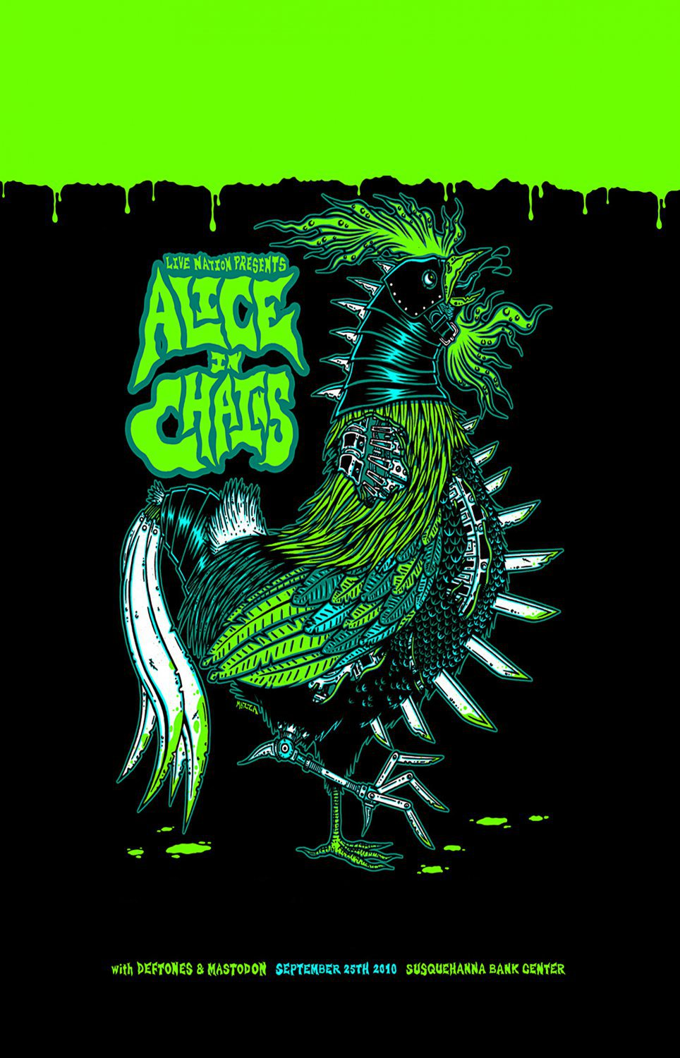 Alice in Chains Concert Tour  18x28 inches Poster Print