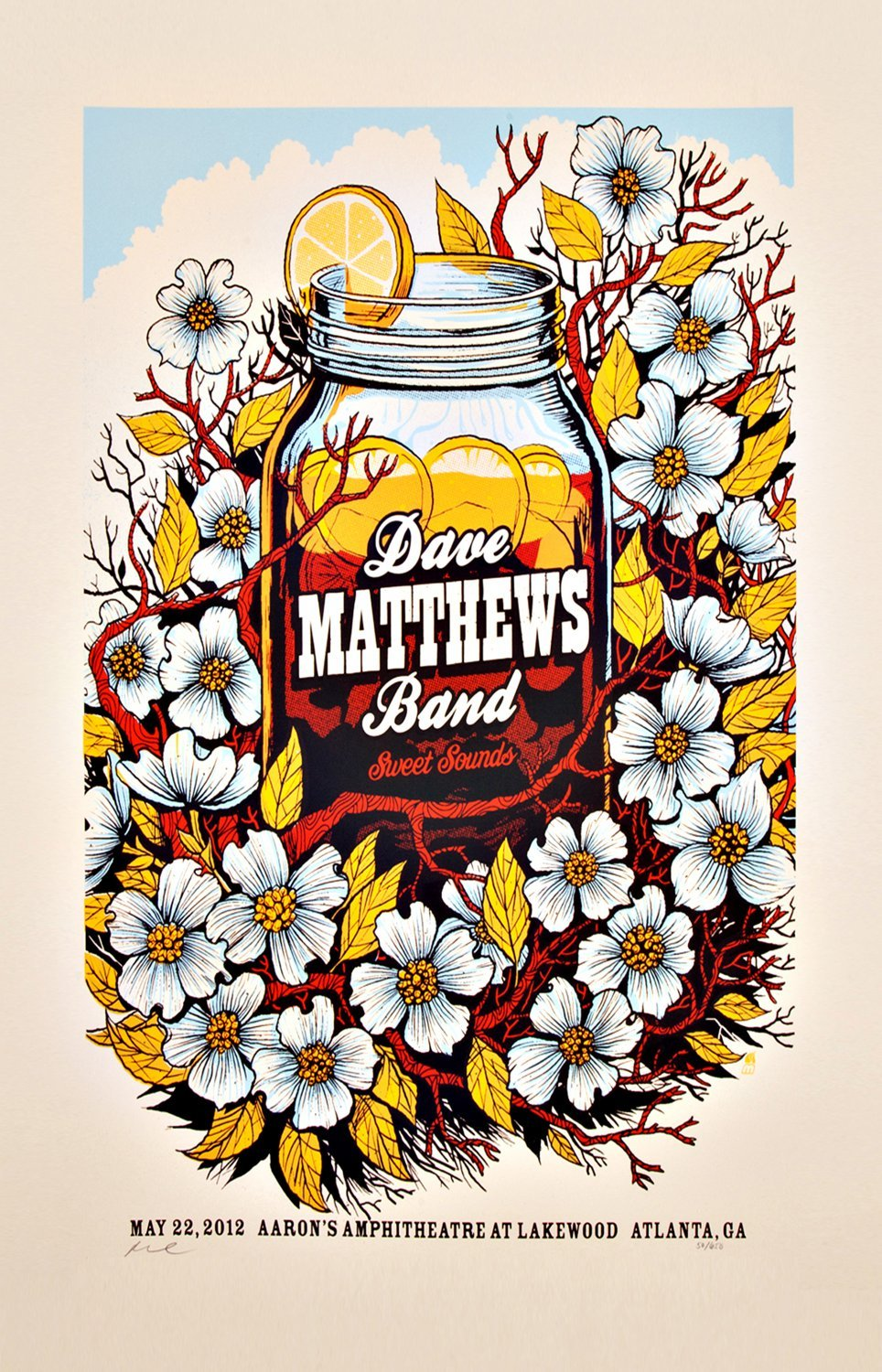 Dave Matthews Band Sweet Sounds  13x19 inches Poster Print