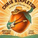 Chris Stapleton Brothers Osborne Lucie Silvas Concert 18x28 inches Poster Print