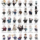 Presidents of The United States of America Chart 18x28 inches Poster Print