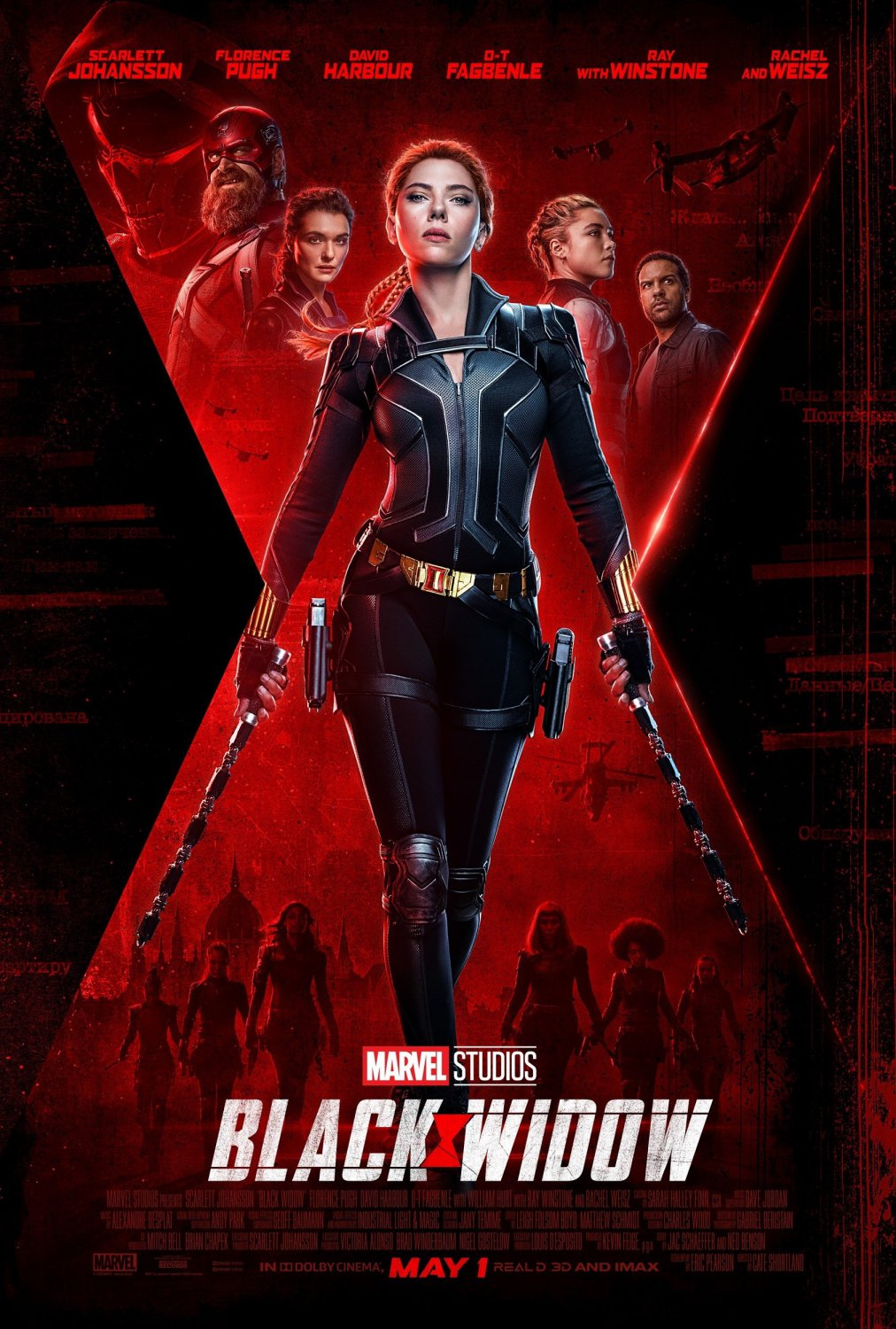 Black Widow Scarlett Johansson  18x28 inches Poster Print
