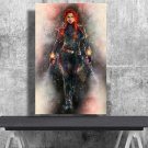 Black Widow, Natasha Romanoff, Scarlett Johansson  24x35 inches Canvas Print