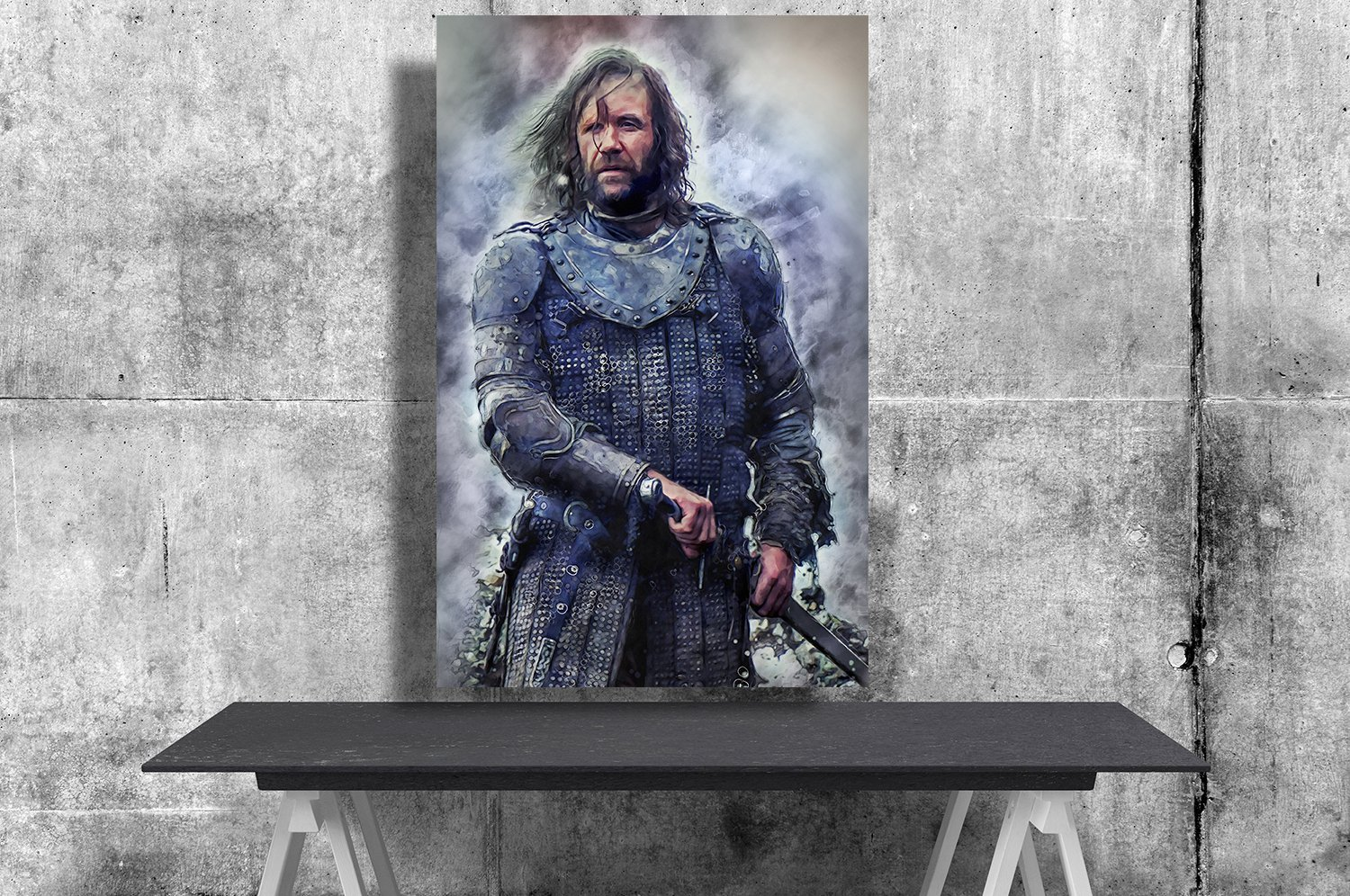 Game of Thrones, Sandor The Hound Clegane  24x35 inches Canvas Print