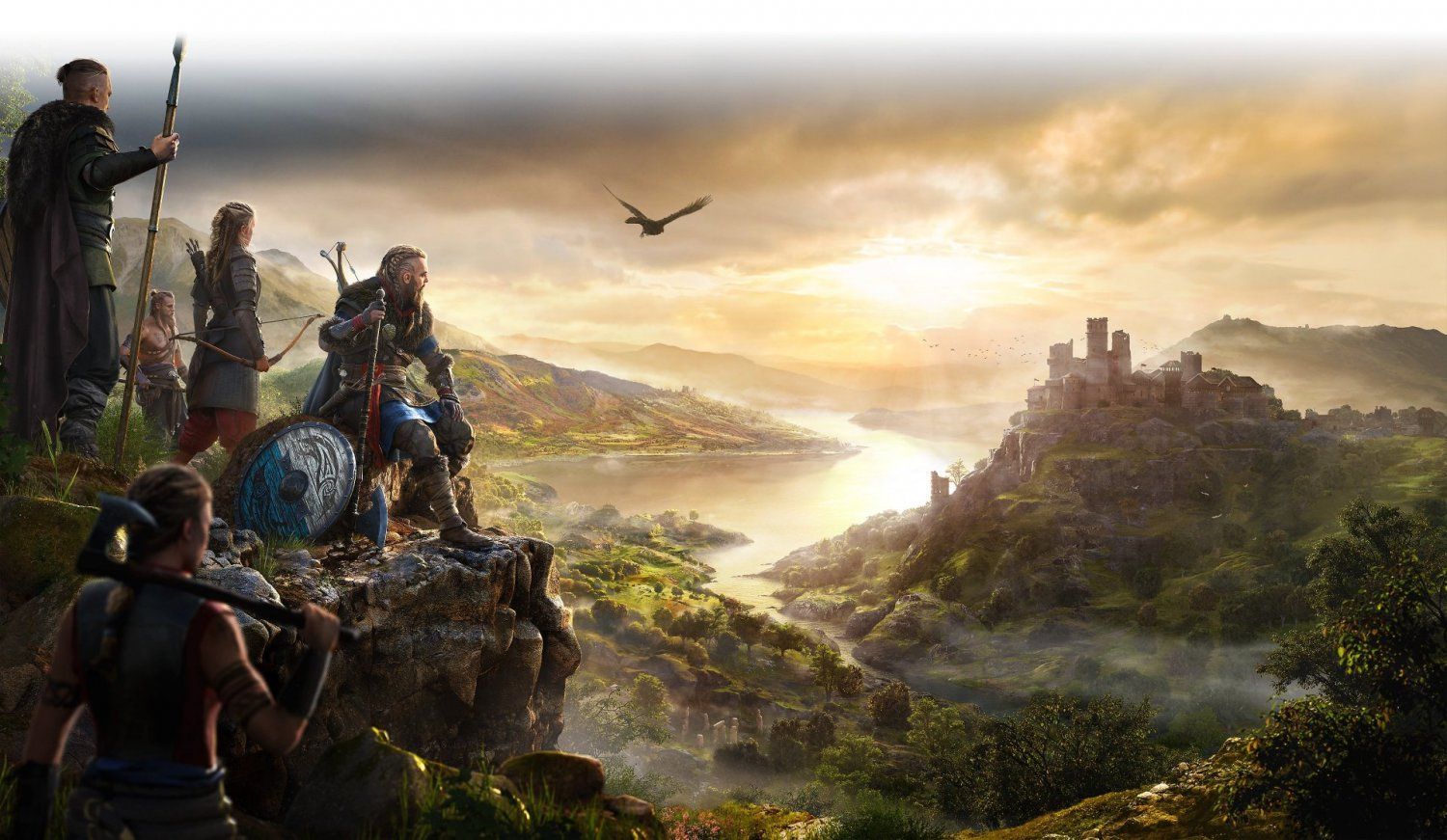 Assassin's Creed Valhalla  24x35 inches Canvas Print