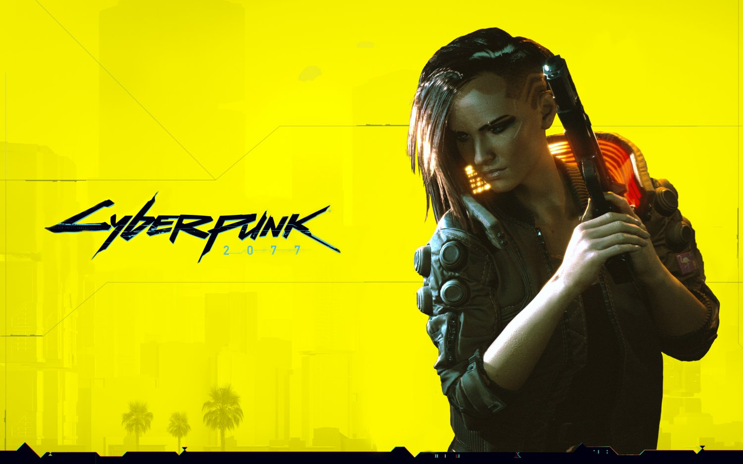 Cyberpunk 2077   18x28 inches Canvas Print