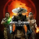 Mortal Kombat 11 Aftermath   18x28 inches Canvas Print