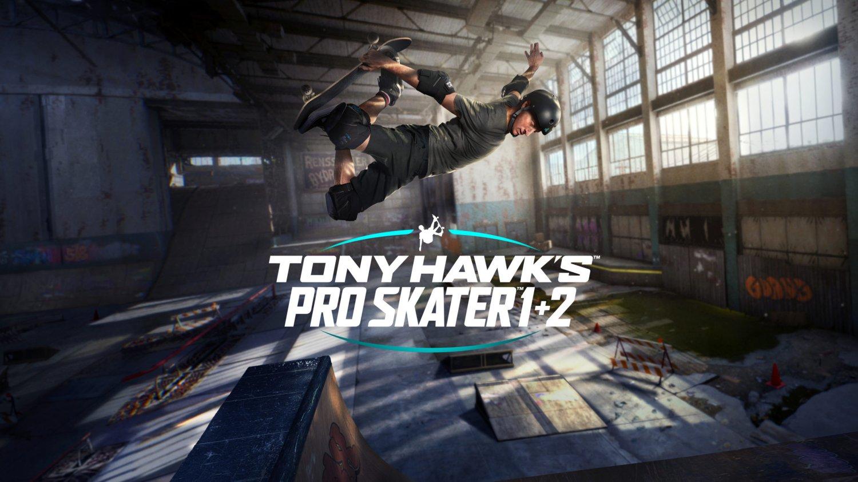 Tony Hawk's Pro Skater 1 + 2  18x28 inches Canvas Print