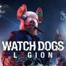 Watch Dogs Legion  18x28 inches Canvas Print