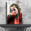 Joker Movie 2019 Joaquin Phoenix Arthur Fleck   24x35 inches Canvas Print