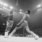 Muhammad Ali vs Joe Frazier  18x28 inches Canvas Print