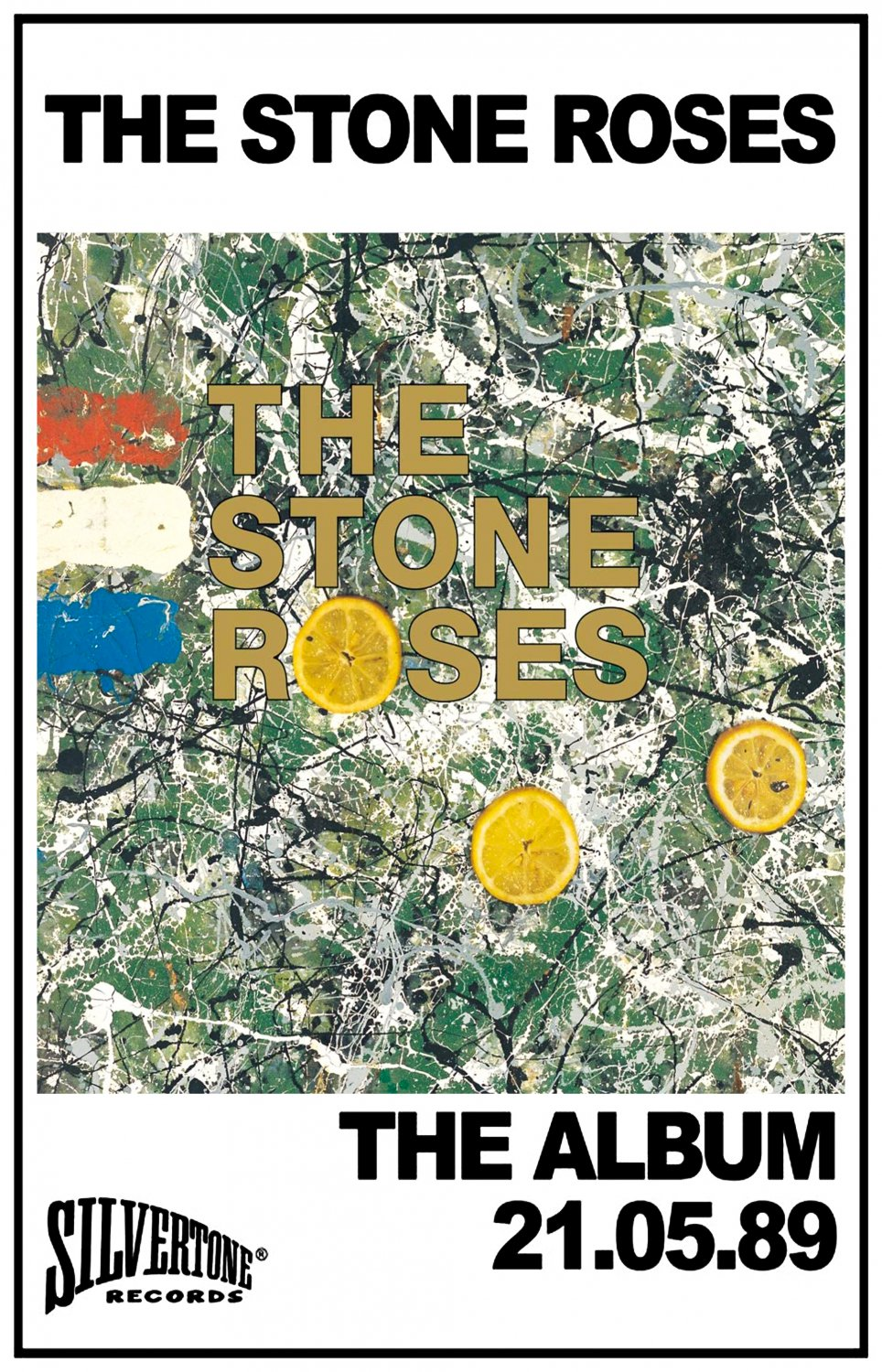 The Stone Roses The Album Cover  18x28 inches Poster Print