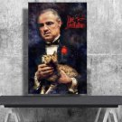 The Godfather, Vito Corleone, Marlon Brando  18x28 inches Poster Print