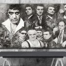 Goodfellas , The Godfather ,Scarface ,The Sopranos ,Mafia  18x28 inches Canvas Print