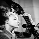 Esperanza Spalding  18x28 inches Canvas Print