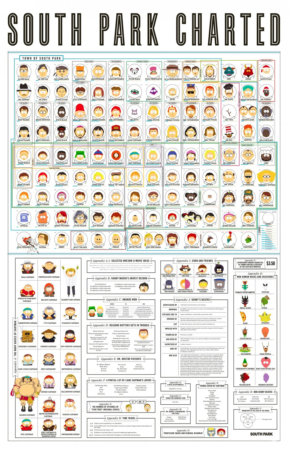 South Park  18x28 inches Poster Print