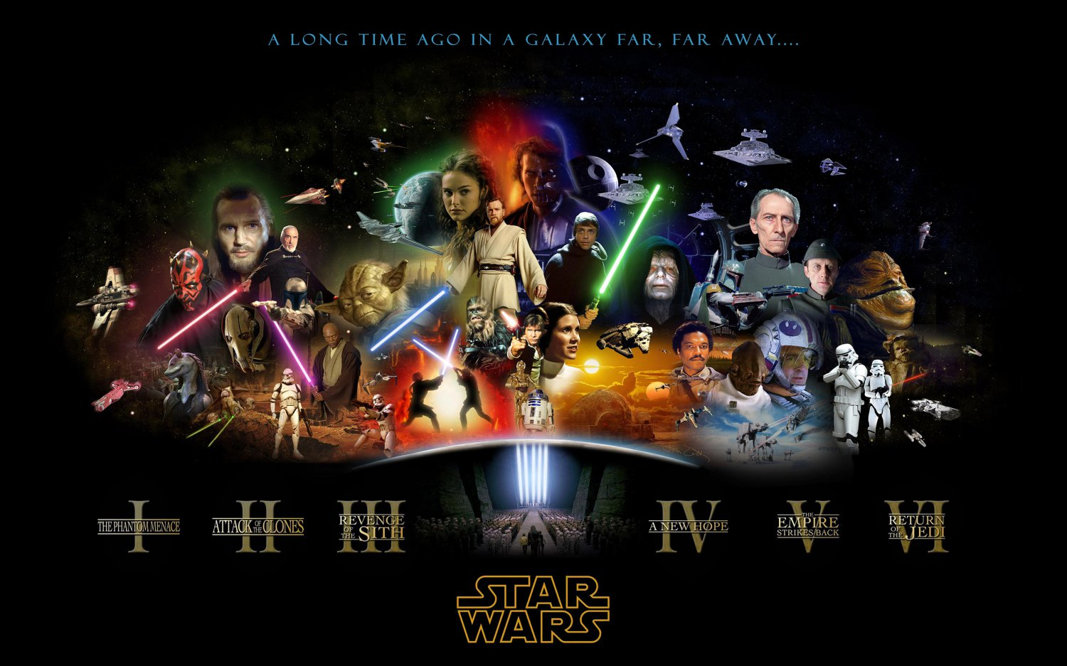 Star Wars Movie  18x28 inches Poster Print
