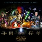Star Wars Movie  24x35 inches Canvas Print