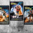 Back to the Future Movie  bundle of 3 Poster Prints 18x28 inches