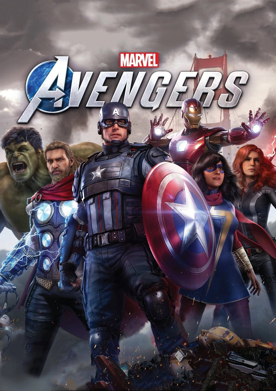 Marvel's Avengers Game  18x28 inches Poster Print