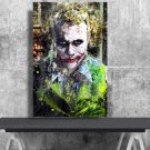 The Joker, Heath Ledger  18x28 inches Canvas Print
