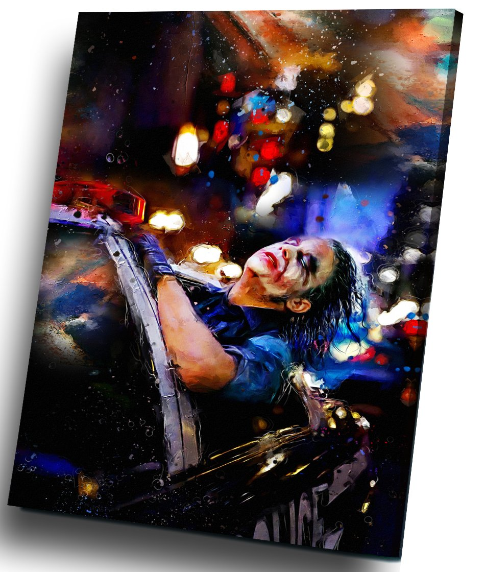 The Joker, Heath Ledger  14x20 inches Stretched Canvas