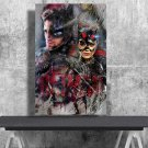 The Batman, Robert Pattinson  18x28 inches Canvas Print
