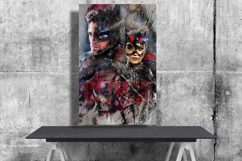The Batman, Robert Pattinson  24x35 inches Canvas Print