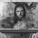 Game of Thrones,Jon Snow  18x28 inches Canvas Print