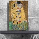 Gustav Klimt - The Kiss   24x35 inches Canvas Print