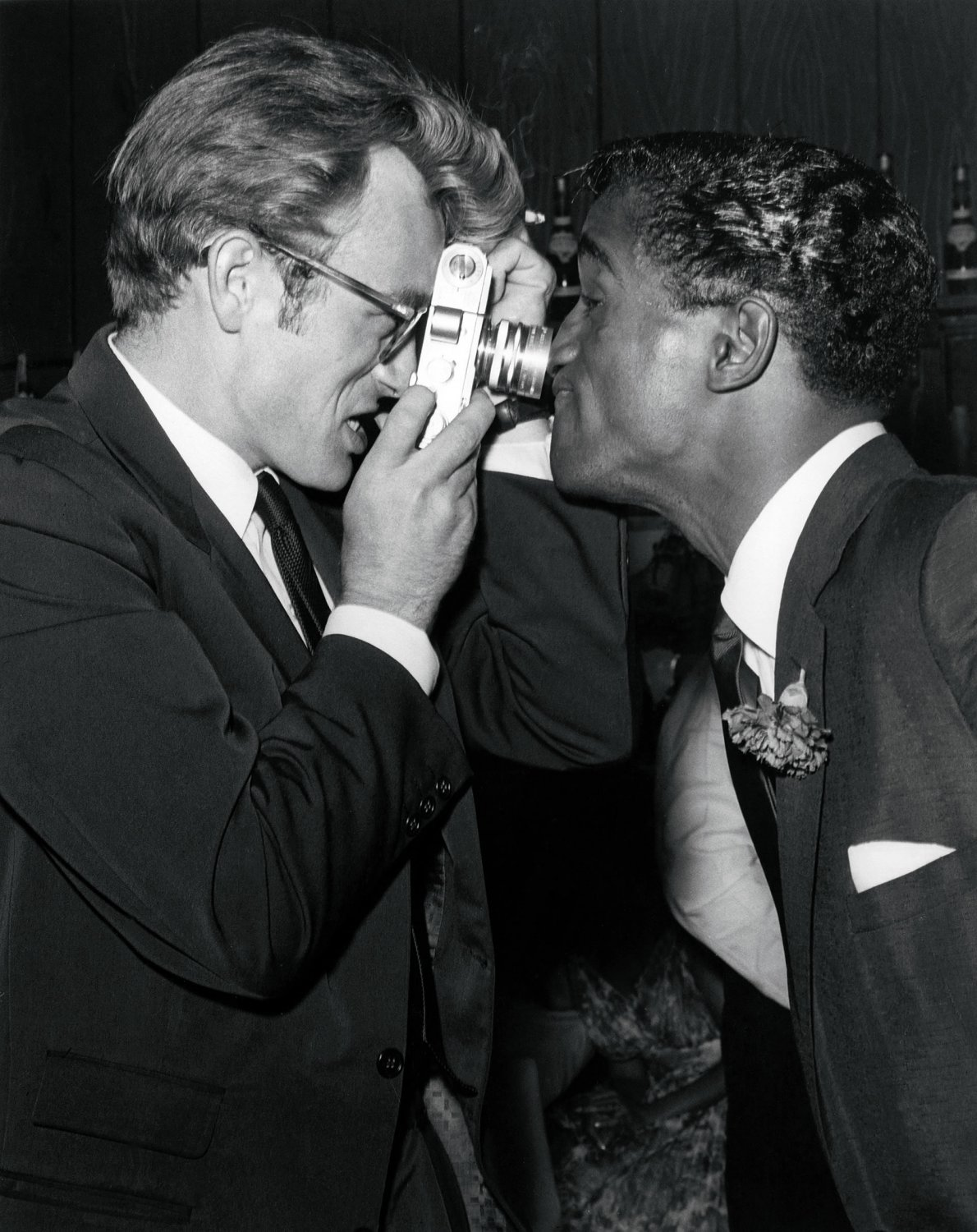 James Dean  Sammy Davis   13x19 inches Poster Print