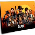 Red Dead Redemption 2 Game  14x20 inches Stretched Canvas