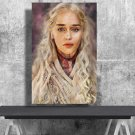 Game of Thrones, Daenerys Targaryen, Emilia Clarke  13x19 inches Canvas Print
