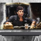 Scarface, Al Pacino, Tony Montana  8x12 inches Photo Paper