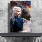 Game of Thrones, Daenerys Targaryen, Emilia Clarke  13x19 inches Poster Print