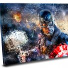 Captain America, Avengers Endgame   14x20 inches Stretched Canvas