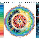 The Map of the Multiverse  24x35 inches Canvas Print