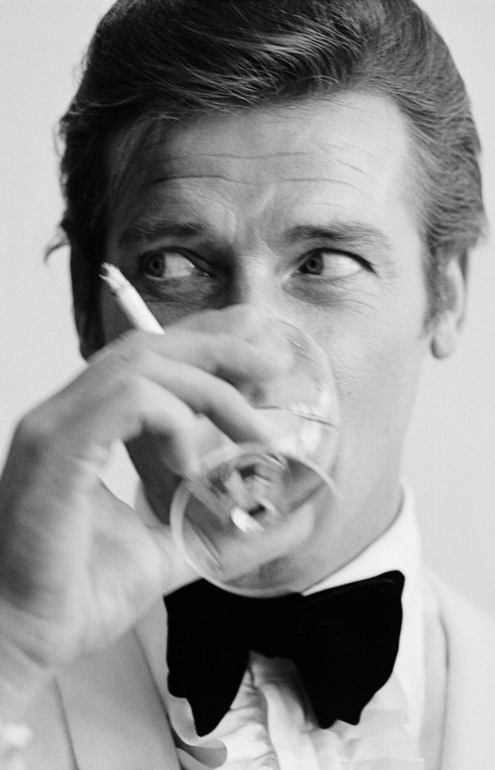 Roger Moore 18x28 inches Poster Print