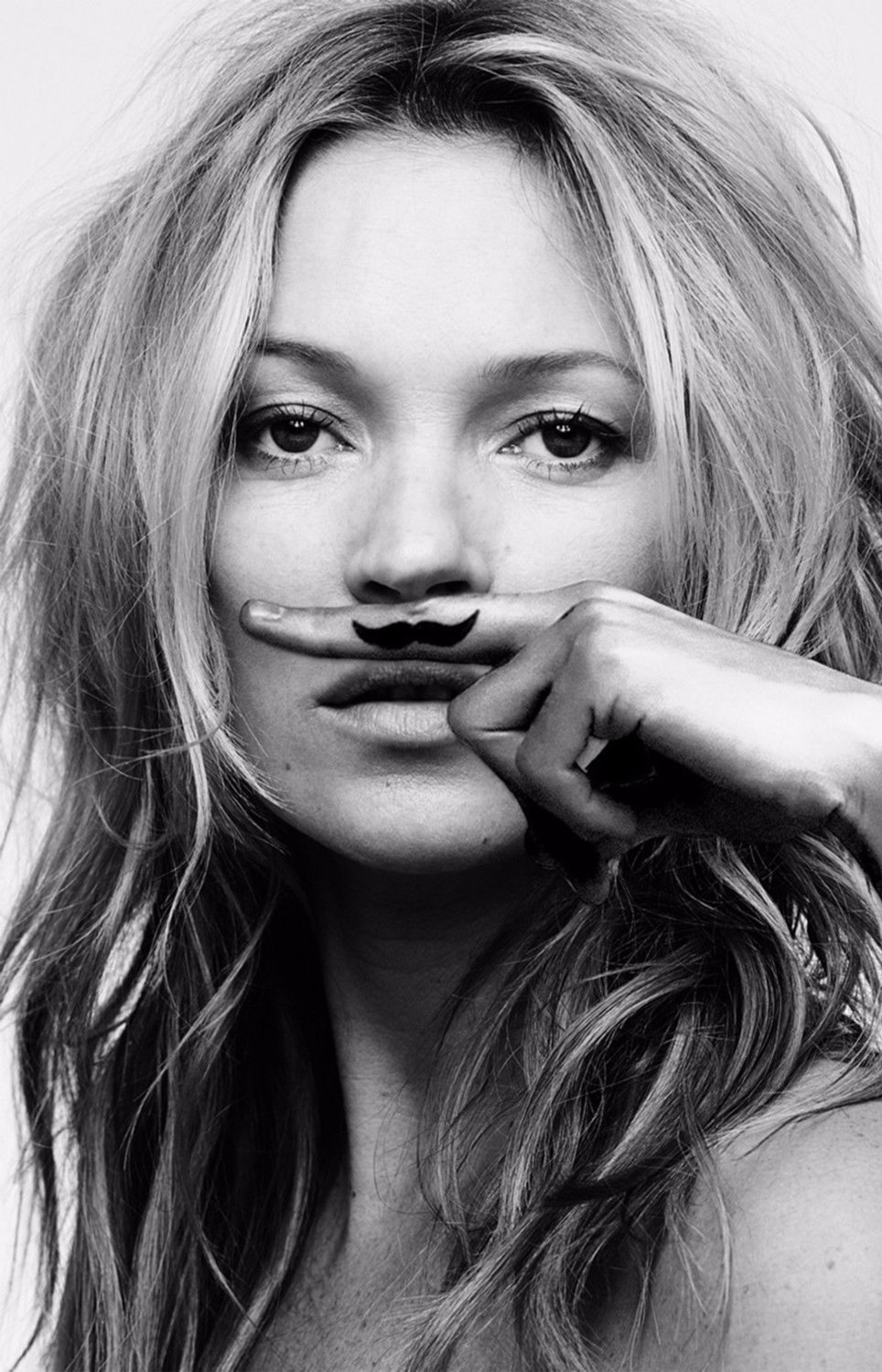 Kate Moss  18x28 inches Canvas Print
