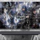 Avengers Endgame, Iron Man, Captain America, Thor  18x28 inches Poster Print